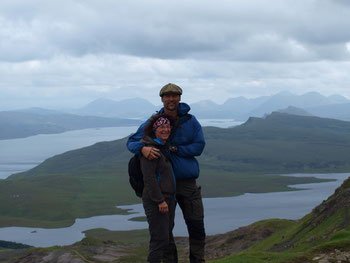 Uwe & Christiane in Schottland