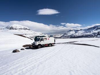 Bremach im Schnee
